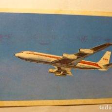 Postales: POSTAL AVION TWA - CIRCULADA. Lote 206219202