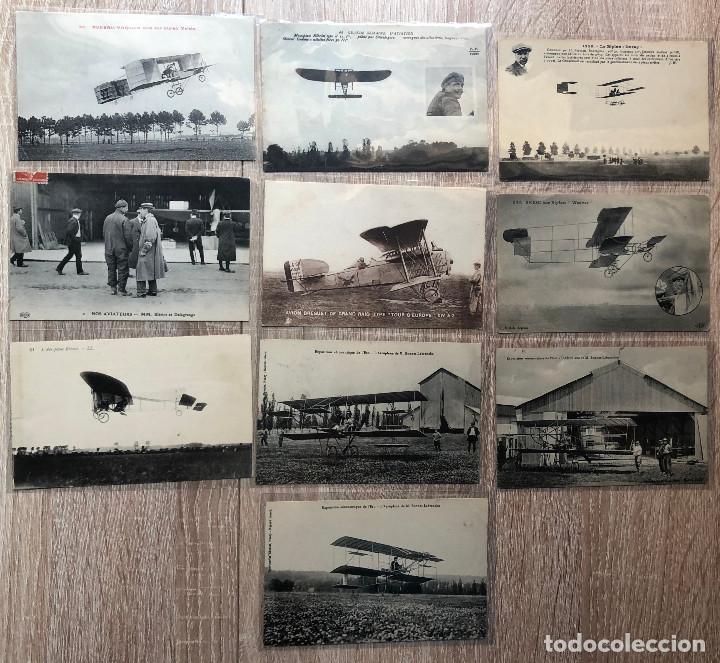 Postales: 19 POSTALES ANTIGUAS TEMA AVIACIÓN - Foto 2 - 206380431