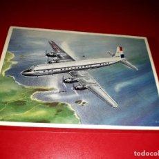 Postales: DOUGLAS DC-7 C KLM SIN CIRCULAR. Lote 206564677