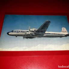 Postales: UNITED AIR LINES DC-7. Lote 206565312