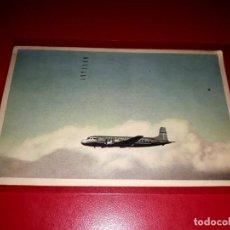 Postales: DOUGLAS DC-6 ESCRITA Y SELLADA. Lote 206565608