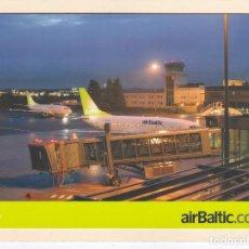 Postais: POSTAL PUBLICITARIA AIR BALTIC. LETONIA. AEROLINEAS. LINEAS AEREAS. Lote 206833285