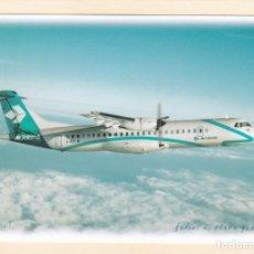 Postales: POSTAL AIR DOLOMITI. ITALIA. AVION ATR 700. AEROLINEAS. LINEAS AEREAS. Lote 206835526