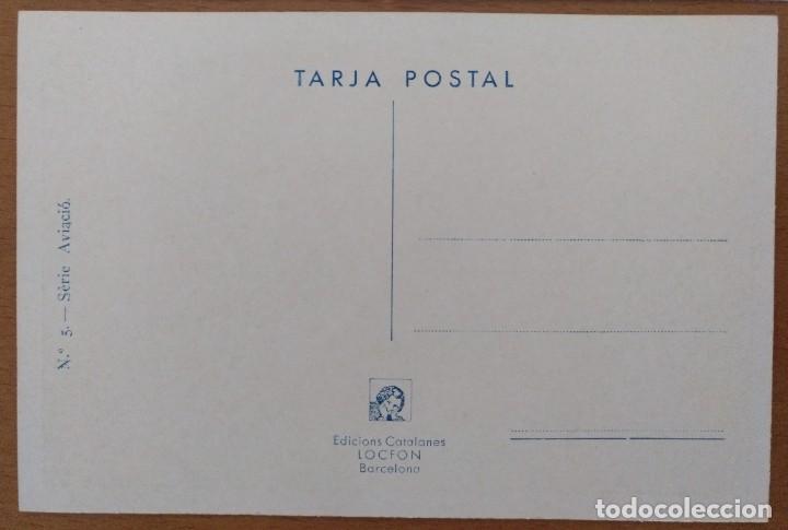 Postales: CINCO POSTALES PATRIOTICA CATALANA SERIE AVIACION EDICIONS LOCFON BARCELONA - Foto 6 - 207137967