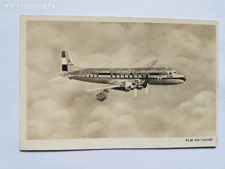DE VLIEGENDE HOLLANDER KLM (Postales - Postales Temáticas - Aeroplanos, Zeppelines y Globos)