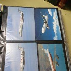 Postales: POSTALES AEROPLANOS. Lote 213758675