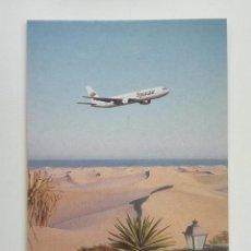 Cartes Postales: POSTAL1488 NUEVA - SPANAIR - BOEING 767 - AVIACION. Lote 217153035