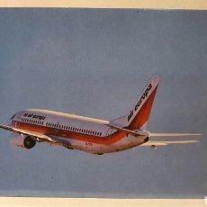 Postales: AIR EUROPA/ AVION / SIN CIRCULAR/ (REF.D100). Lote 218156548