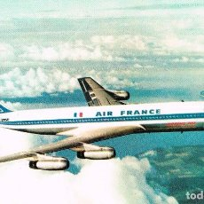 Postales: BOEING 707 INTERCONTINENTAL DE AIR FRANCE. Lote 218614122