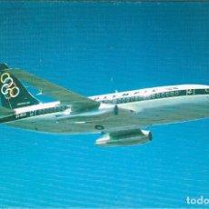 Postales: BOEING 737-200 DE OLYMPÌC AIRWAYS, POSTAL EDITADA POR LA COMPAÑIA GRIEGA. Lote 218614287