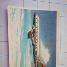 Postales: POSTAL AVIÓN RUSO TU-104. Lote 219194447