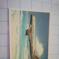 Postales: POSTAL AVIÓN RUSO TU-104 B. Lote 219195245