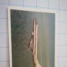 Postales: POSTAL AVIÓN RUSO TU-124. Lote 219195625