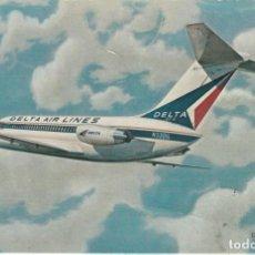 Postales: POSTAL DELTA AIR LINES DOUGLAS DC 9 32.. Lote 220609398