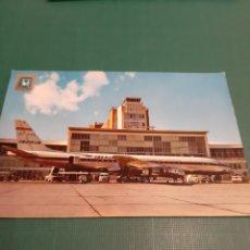 Postales: 1964 POSTAL AEROPUERTO BARAJAS MADRID EDICIÓN DOMÍNGUEZ. Lote 220921631
