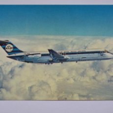 Postales: POSTAL. AVIÓN. THE DC-9-30 KLM'S STRETCHED DC-9 JET. NO ESCRITA.. Lote 221883113