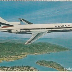 Postales: DELTA AIRLINES BOEING 727-232. Lote 222680911