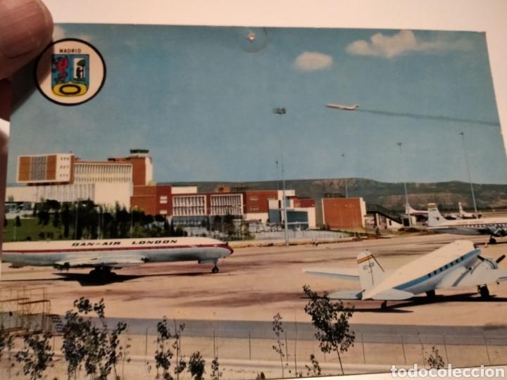 Postales: Postal aeropuerto Barajas Madrid aviones - Foto 3 - 222699650