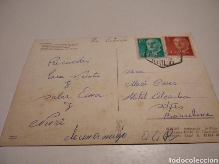 Postales: Postal aeropuerto Barajas Madrid aviones - Foto 4 - 222699650