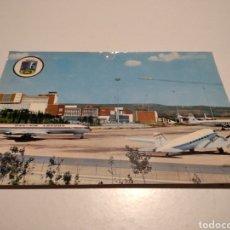 Postales: POSTAL AEROPUERTO BARAJAS MADRID AVIONES. Lote 222699650