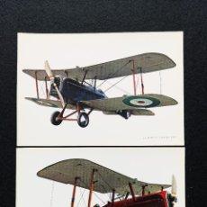 Postales: POSTALES LOTE DE 3 SE 5A BRITISH FIGHTER (X2) Nº 57. Lote 225546680