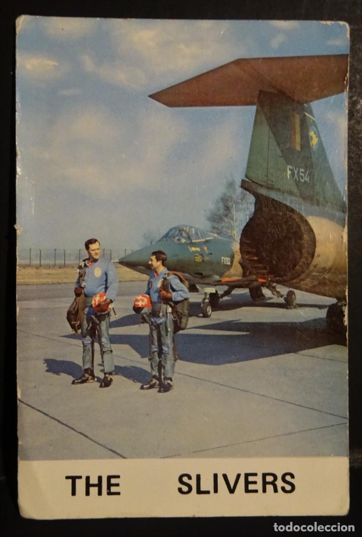 THE SLIVERS (PATRULLA ACROBATICA BELGA) POSTAL CIRCULADA (Postales - Postales Temáticas - Aeroplanos, Zeppelines y Globos)