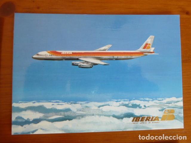 Postales: Lote antiguas postales Iberia. Nuevas - Foto 4 - 229623255