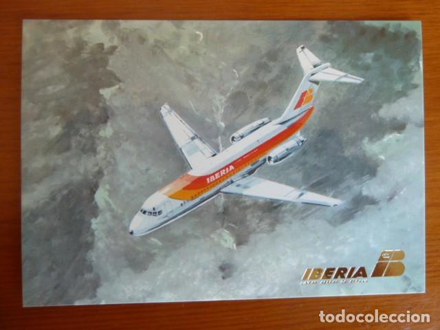 Postales: Lote antiguas postales Iberia. Nuevas - Foto 5 - 229623255