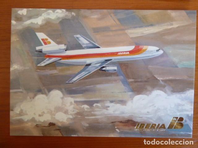 Postales: Lote antiguas postales Iberia. Nuevas - Foto 6 - 229623255