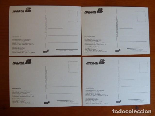 Postales: Lote antiguas postales Iberia. Nuevas - Foto 7 - 229623255