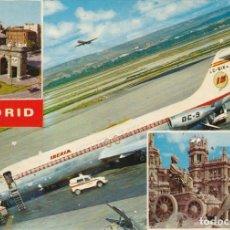 Postales: POSTAL IBERIA MADRID AEROPUERTO DE BARAJAS. Lote 233152275