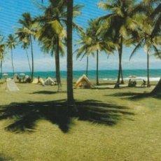Postales: POSTAL LINEA AEREA VARIG APAISADA SALVADOR DE BAHIA BRASIL VISTA DEL JARDIN DE ALAH.NUEVA. Lote 233286590