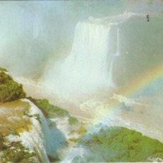 Postales: POSTAL LINEA AEREA VARIG APAISADA FOZ DE IGUACÚ PARANA,BRASIL.CATARATAS IGAUCÚ. Lote 233287195