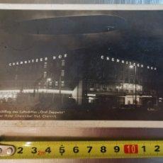 Postales: POSTAL DE ZEPPELIN EN CHEMNITZ DEUTSCHLAND ALEMANIA , DE 1933. ESCRITA EN ESPERANTO. Lote 233765210