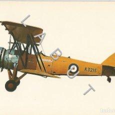 Postales: AVRO TUTOR 1931 HISTOIRIA DE LA AVIACION POSTAL C43. Lote 234933100