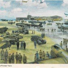 Postales: AEROPUERTO RINGWAY - THE PIONEER YEARS (MANCHESTER / GRAN BRETAÑA). Lote 235120750