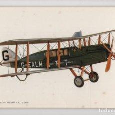 Postales: PASSENGER CIVIL AIRCRAFT DE 1919 -C Y Z-. Lote 237132330