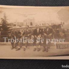 Postales: POSTAL FOTOGRAFICA TIBIDABO - BARCELONA - 1900'S - RARA. Lote 238327335