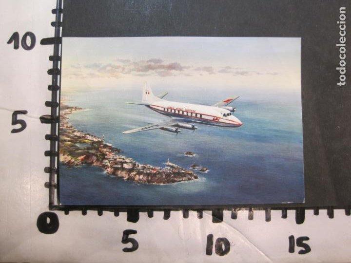 Postales: AVION-QUADRIMOTORE A TURBOELICA-VICKERS VISCOUNT 785-POSTAL ANTIGUA-VER FOTOS-(77.631) - Foto 4 - 243452475