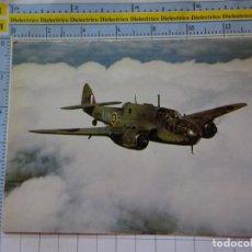 Postales: POSTAL DE AVIONES AEROLÍNEAS. AVIÓN MILITAR GUERRA. BRISTOL BEAUFORT I RAF. 3365. Lote 243584225