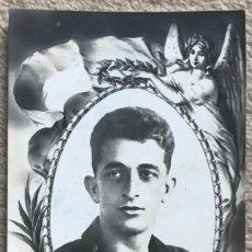 Postales: TARJETA POSTAL DE PABLO RADA - MECÁNICO VUELO HIDROAVIÓN PLUS ULTRA. Lote 243867915