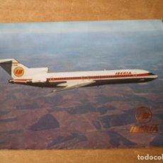 Postales: POSTAL IBERIA BOEING 727/256. Lote 244676150