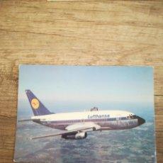 Postales: BOEING 737 LUFTHANSA. AVIÓN.. Lote 245910415
