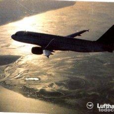 Postales: POSTAL AIRBUS A320-200 DE LUFTHANSA. Lote 251064970