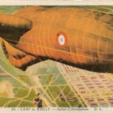 Postales: POSTAL DIRIGIBLE EN CAMP DE MAILLY. ZEPELIN. Lote 251170800