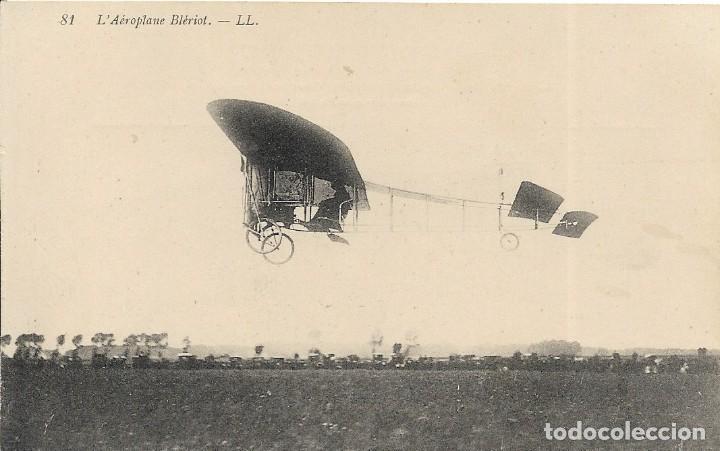 POSTAL L'AEROPLANE BLÉRIOT (Postales - Postales Temáticas - Aeroplanos, Zeppelines y Globos)
