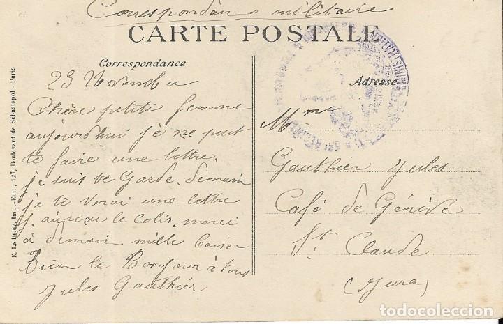Postales: Postal del aviador SIFFE, lanzador de bombas en los hangares de Dusseldorf - Foto 2 - 251176950