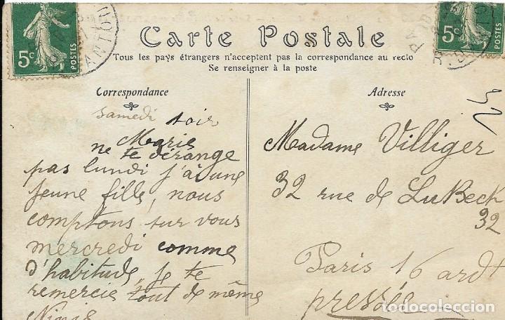 Postales: Postal de la aeroestación zepelin militar - Foto 2 - 251177785