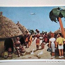 Postales: KLM TROPICAL. SIN CIRCULAR. Lote 253021330