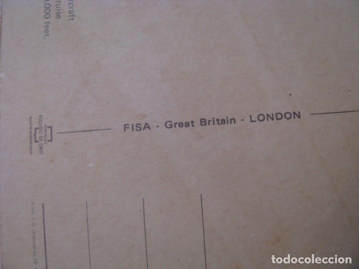 Postales: POSTAL DE CONCORDE. GREETINGS FROM LONDON. ED. ESCUDO DE ORO, FISA. 21,5X11 CM. - Foto 4 - 254000565